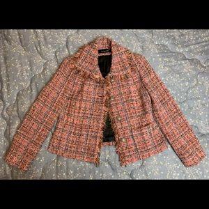 Jones New York Petite Tweed Blazer